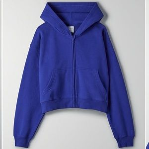 Tna Cozy Fleece Perfect Zip Up Hoodie